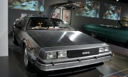 Les Photos de la Delorean (A-Car) au Petersen Automotive Museum L.A.